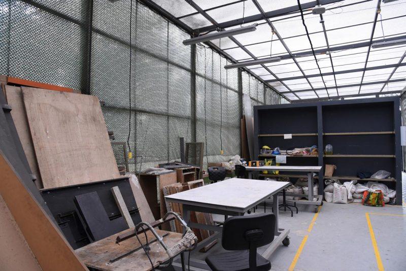 Herramientas laboratorio de construcción