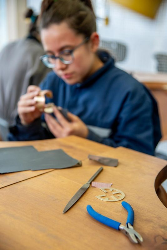 Herramientas taller de joyería