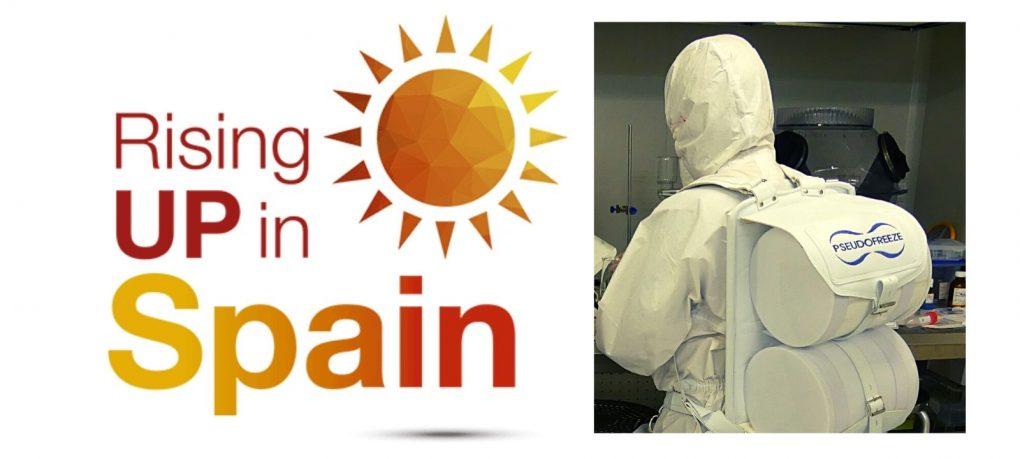 Startup uniandina seleccionada por la incubadora Rising Up In Spain